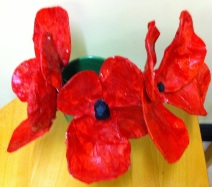 Art club's poppies